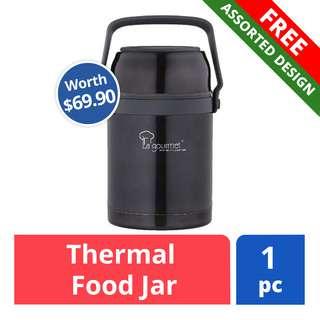 FREE La Gourmet Thermal Food Jar (Worth $69.90)