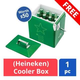FREE Heineken Cooler Box (worth $50)