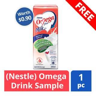 FREE Omega Drink Sample (Worth $0.90)
