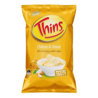 Thins Potato Chips - Cheese & Onion