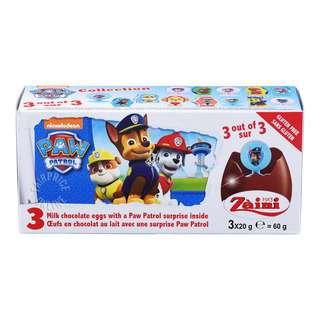 Zaini Disney Milk Chocolate Egg - Paw Patrol Collection