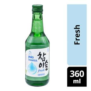 Jinro Chamisul Bottle Soju - Fresh