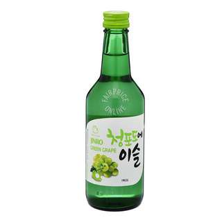 Jinro Chamisul Bottle Soju - Green Grape