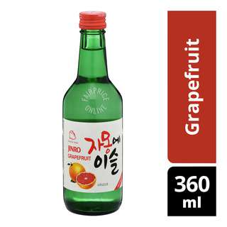 Jinro Chamisul Bottle Soju - Grapefruit
