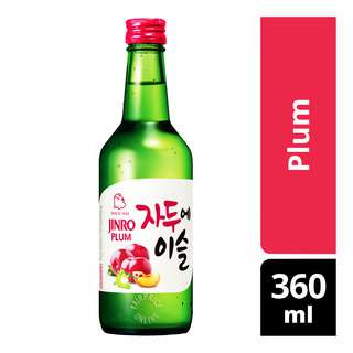 Jinro Chamisul Bottle Soju - Plum