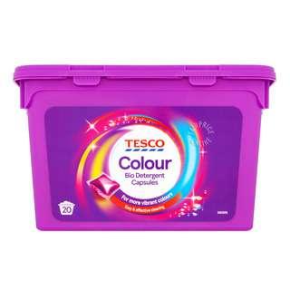 Tesco Bio Detergent Capsules - Colour
