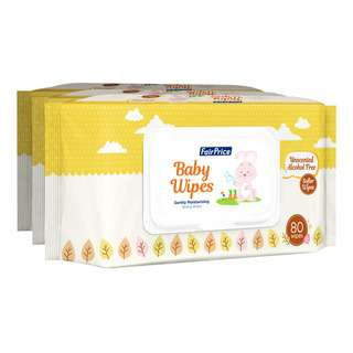 FairPrice Baby Wipes - Unscented