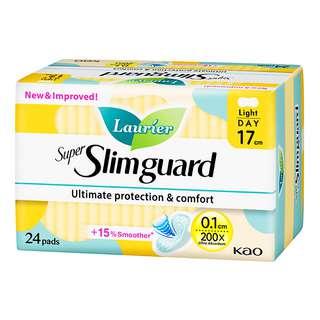 Laurier Super Slimguard Day Pads - Light (17cm)