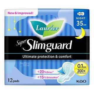 Laurier Super Slimguard Night Pads - Heavy (35cm)