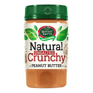 Mother Earth Natural Peanut Butter - Crunchy