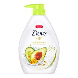 Dove Go Fresh Paraben-Free Body Wash - Avocado Calendula