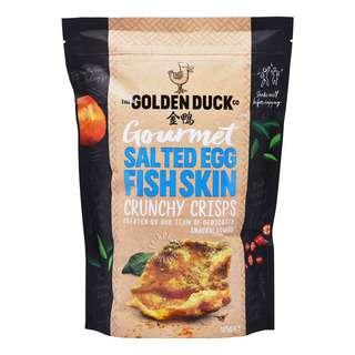 The Golden Duck Co. Gourmet Crunchy Crisps - Salted Egg FishSkin