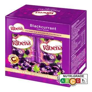 Ribena Blackcurrant Fruit Packet Drink - Regular