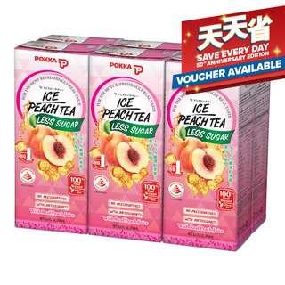Pokka Packet Drink - Ice Peach Tea (Less Sugar)