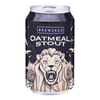 Brewerkz Can Beer - Oatmeal Stout