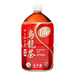 Life Oolong Tea Bottle Drink - No Sugar