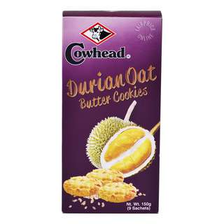 Cowhead Butter Cookies - Durian Oat