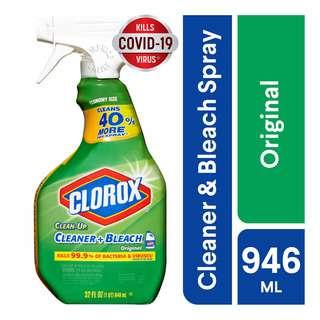 Clorox Clean-Up Cleaner + Bleach
