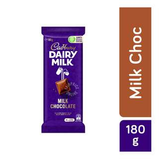 Classic Dairy Milk Milk Chocolate is smooth and delicious chocolate perfect for chocolate lovers. Taste the deliciously creamy milk chocolate made with a glass and a half of full cream diary milk in every 200g bar of chocolate. Cadbury Dairy Milk Chocolate is for those everyday moments of joy that you want to share with your near and dear ones with something sweet. It stands for goodness, a moment of pure magic.