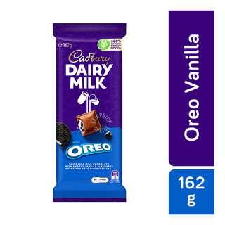 Cadbury Dairy Milk Chocolate Block - Oreo Vanilla