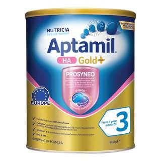 Aptamil HA Gold+ Growing Up Milk Formula - Stage 3