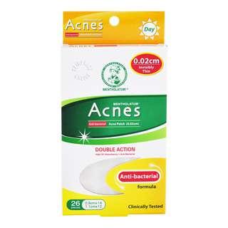 Mentholtum Acnes Patch 0.02cm - Double Action