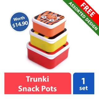 FREE Trunki Snack Pots (worth $14.90)