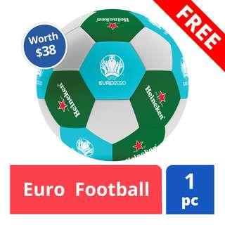 Free Euro Football (worth $38)