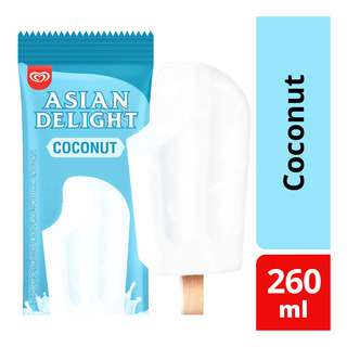 Wall's Asian Delight Ice Cream - Coconut