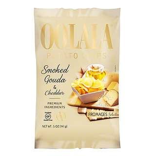 Oolala Potato Chips - Smoked Gouda & Cheddar