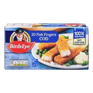 Birds Eye Frozen Breaded Fish Fingers - Cod