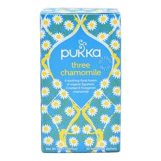 Pukka Herbal Tea Bags - Three Chamomile