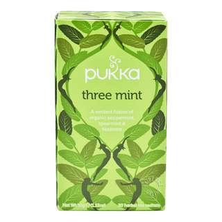 Pukka Herbal Tea Bags - Three Mint