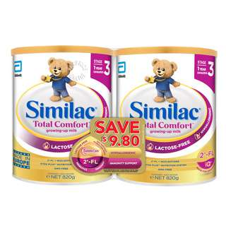 Abbott Similac Total Comfort Follow On Milk Formula -Stage 3