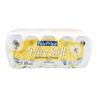 FairPrice Pure Soft Bathroom Tissue Roll (2ply)
