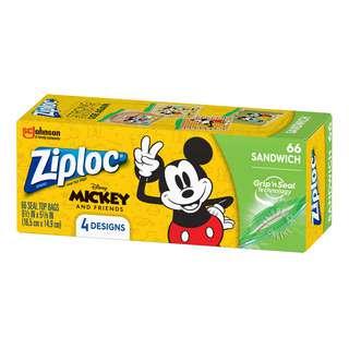 Ziploc Sandwich Bags - Mickey