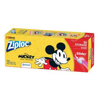 Ziploc Storage Bags - Mickey