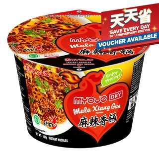 Myojo Dry Instant Bowl Noodle - Mala Xiang Guo