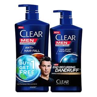 Clear Men Anti-Dandruff Shampoo - Anti-Hair Fall