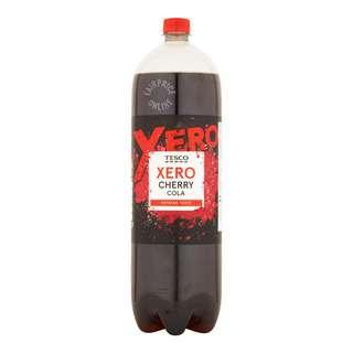 Tesco Cherry Cola Drink - Xero