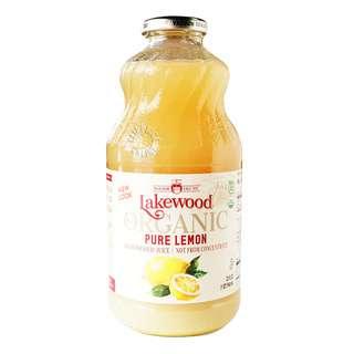 Lakewood Organic Pressed Juice - Pure Lemon