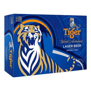 <p>Tiger Beer is currently brewed in 11 countries and enjoyed in more than 75 countries across Europe, US, Latin America, Australia and the Middle East. As one of the leading contemporary beer brands in the world, Tiger Beer goes through a strict brewing process which takes over 500 hours, earning it more than 40 international accolades and awards. Our beer with bite.</p>