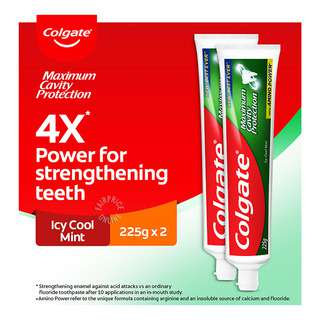 Colgate Maximum Cavity Protection Toothpaste - Ice Cool Mint