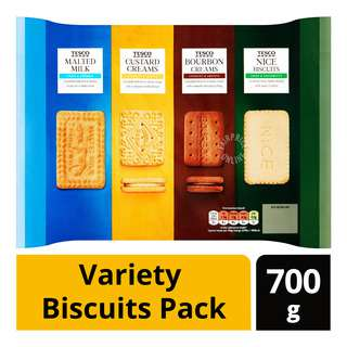 Tesco Variety Pack Biscuits