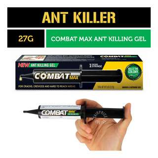 Combat Max Ant Killing Gel Syringe