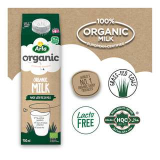 Arla Organic Milk - Full Cream