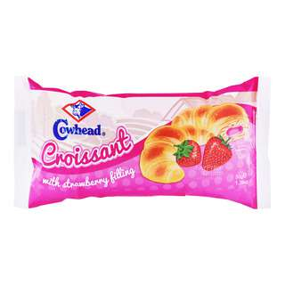Cowhead Croissant with Filling - Strawberry