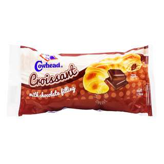 Cowhead Crossiant with Filling - Chocolate