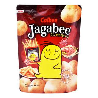 Calbee Jagabee Potato Stick - Spicy