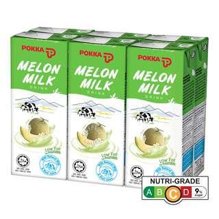 Pokka Packet Drink - Melon Milk